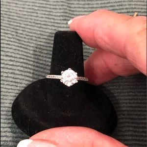 Jewelry - Classic 6 prong  engagement style CZ ring